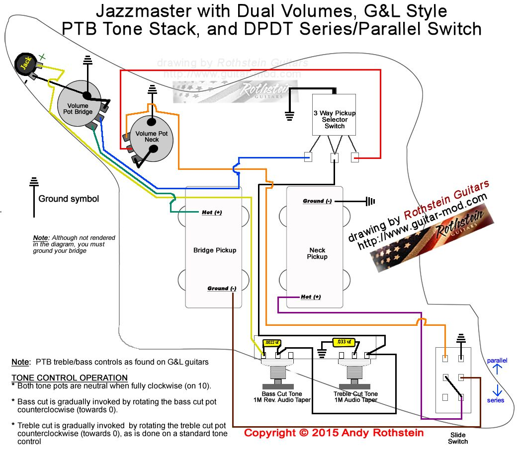 precision bass wiring diagram rothstein guitars %e2%80%a2 serious tone for the player 2000 toyota 4runner upgrading jazzmaster electronics part ii mods