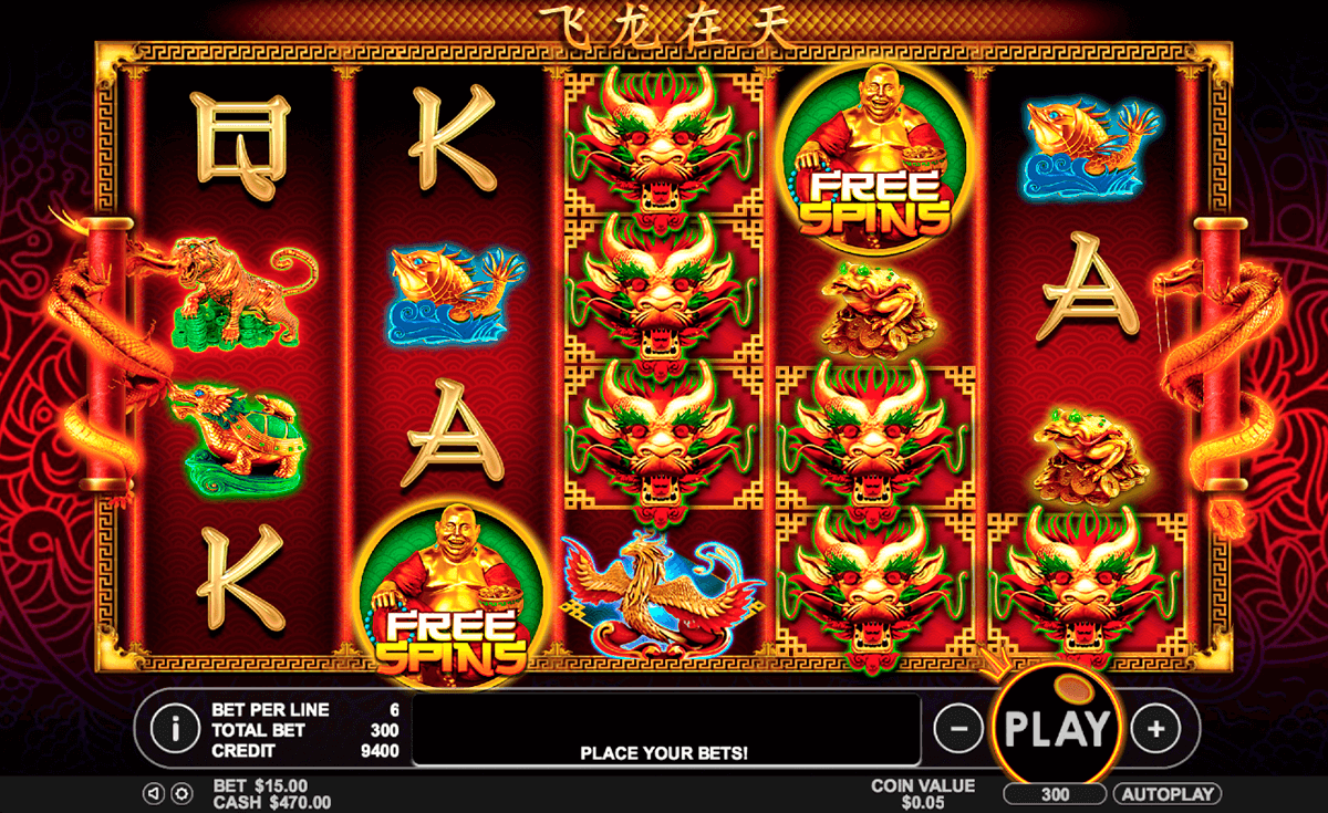 Dragon 4d Slot