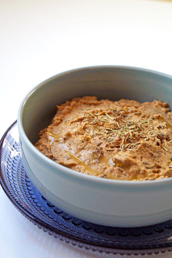 baba ganoush (aubergine dip)