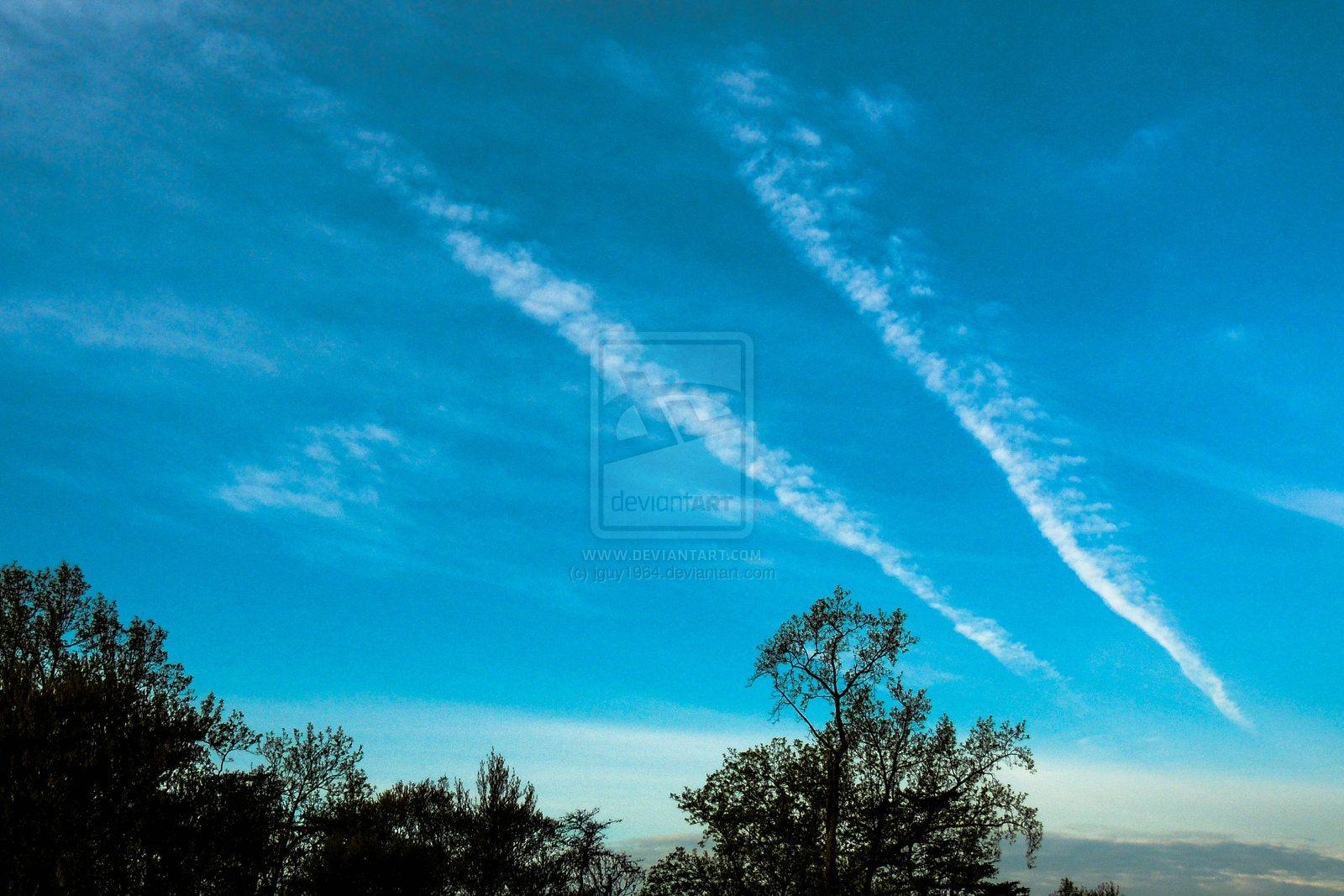 Project 365 - 107 - The Sky Burnout by jguy1964.deviantart.com on @deviantART