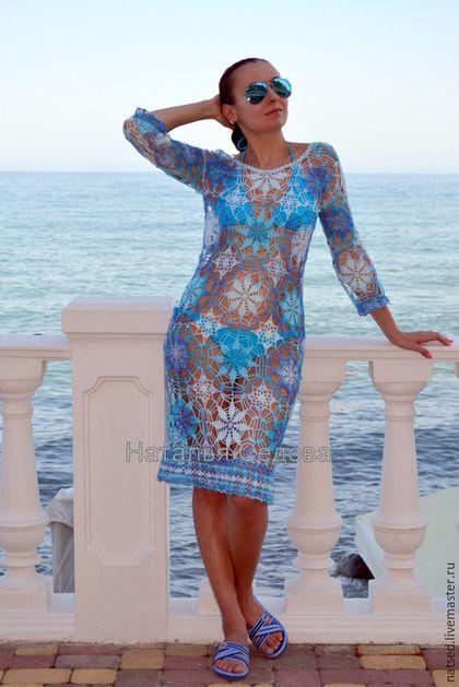 961ce244224d822 Пляжные платья ручной работы. Ярмарка Мастеров - ручная работа. Купить  Платье