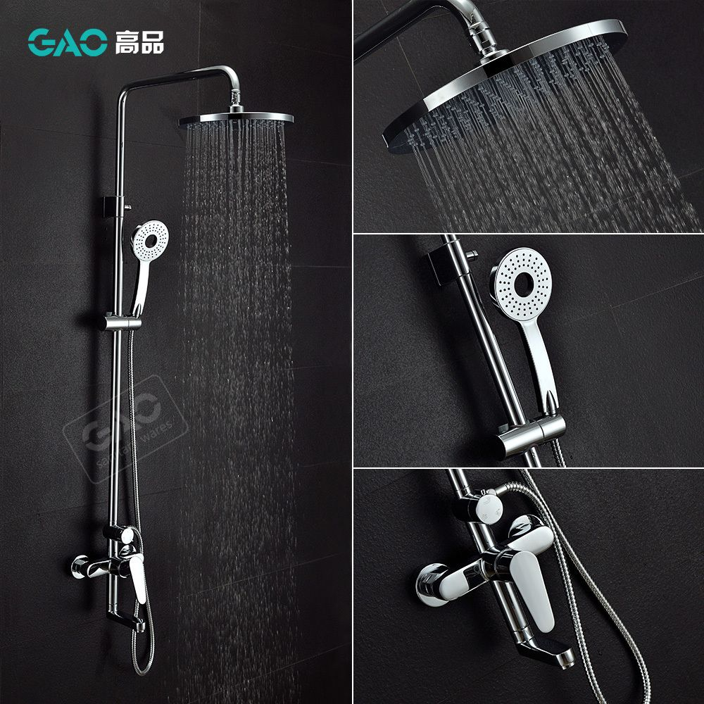 Free Shipping Wholesale And Retail Brass Shower Set, Bathroom Rain ...