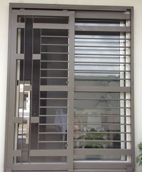 Puertas mosquiteras y corredizas herreria moderna - Puertas modernas exterior ...