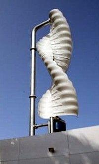 helix wind anlage auf dach hobby energie windrad und energiegewinnung. Black Bedroom Furniture Sets. Home Design Ideas