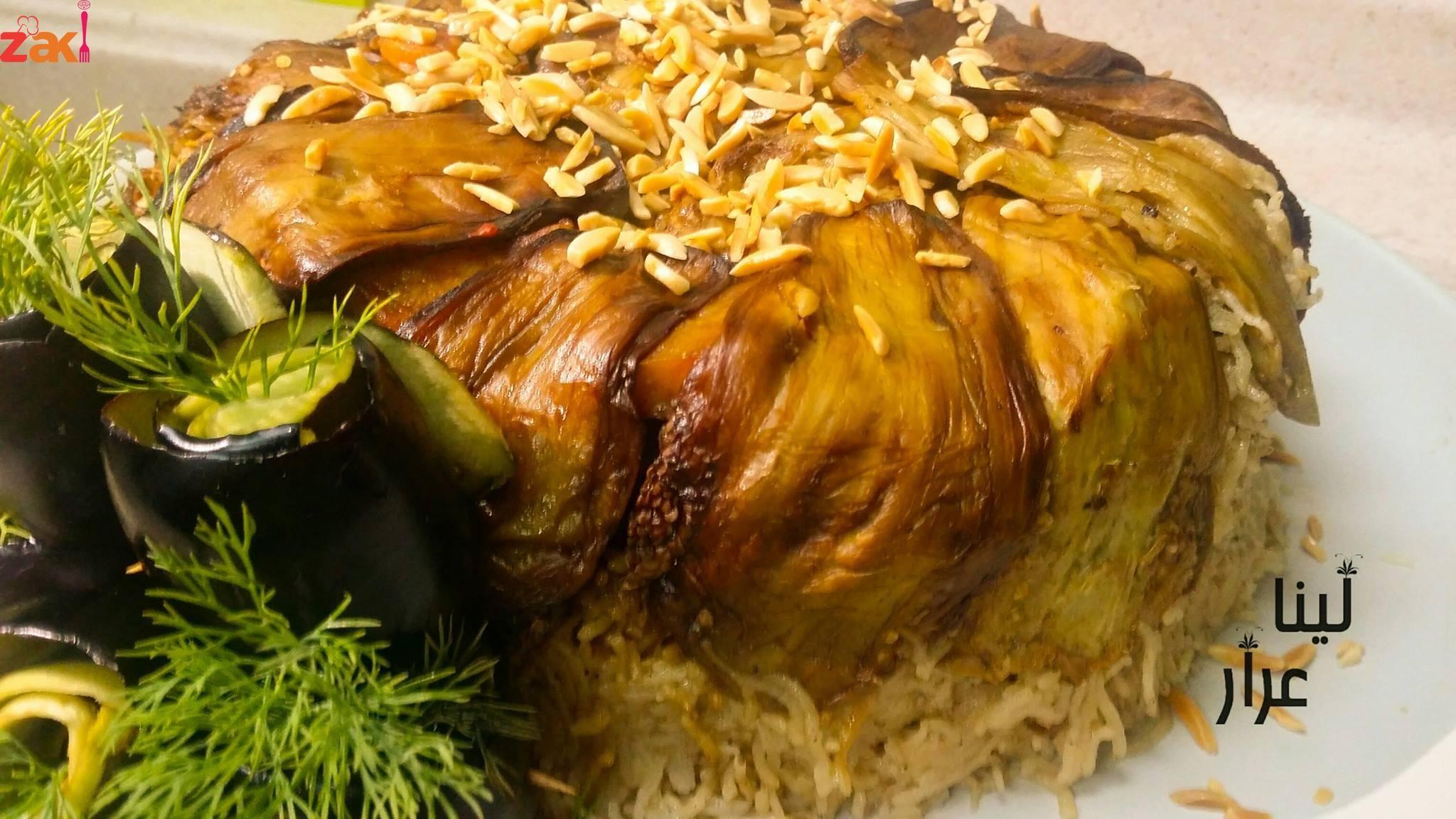 مقلوبة على لحمة من أزكى الطرق اللي جربتها زاكي Arabic Food Food Cooking