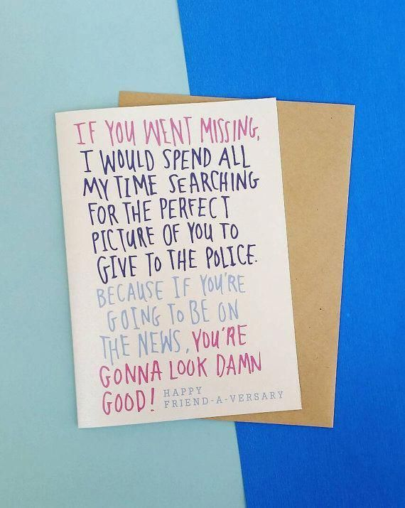 Image Result For What To Write In A Birthday Card For A Friend Funny Yogapants Best Friend Birthday Cards Birthday Card Sayings Birthday Card Drawing
