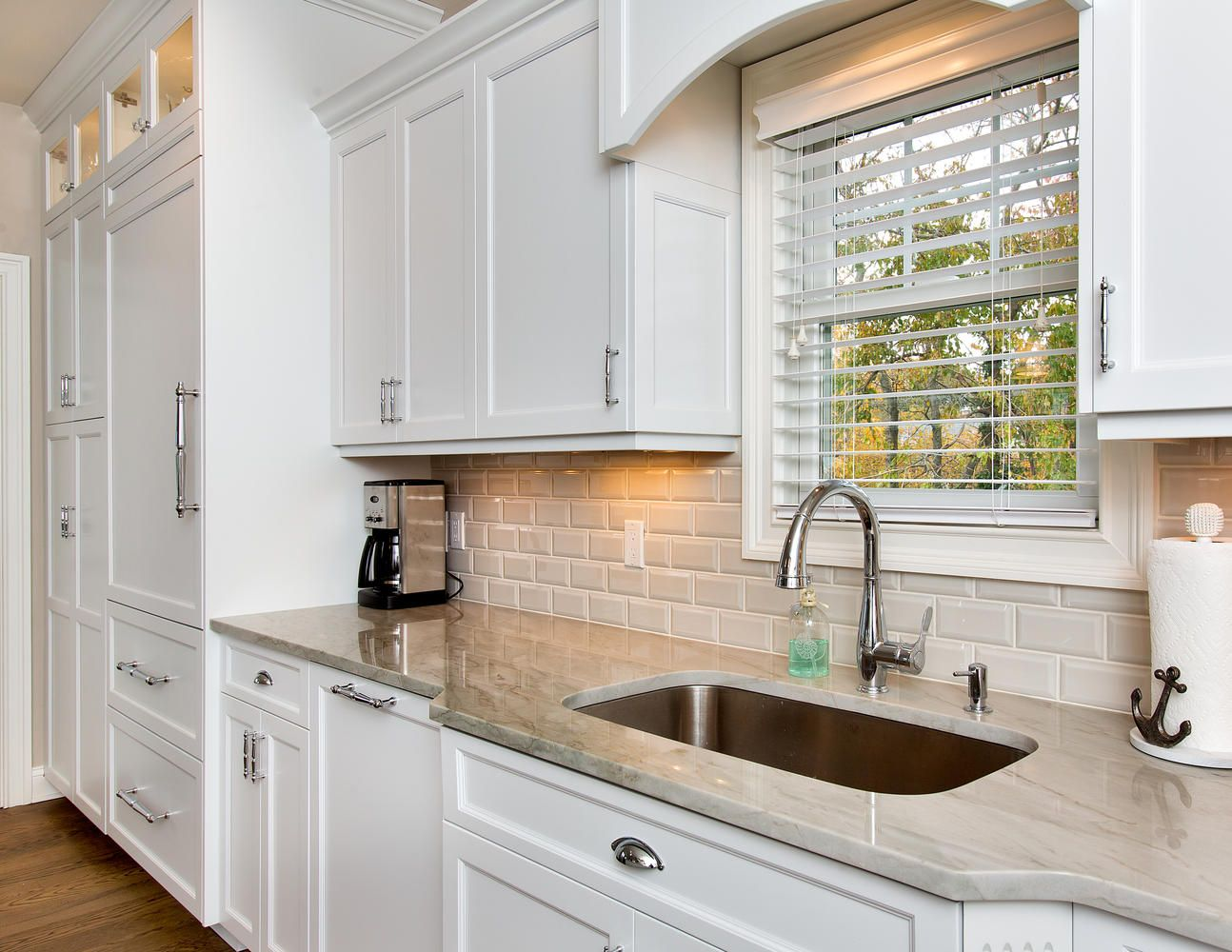 Refined Casual Style Kitchen Brielle New Jersey by Design Line ...