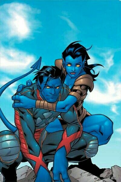 Xmen Nightcrawlers and unknown sister   Xmen Legacy   X men