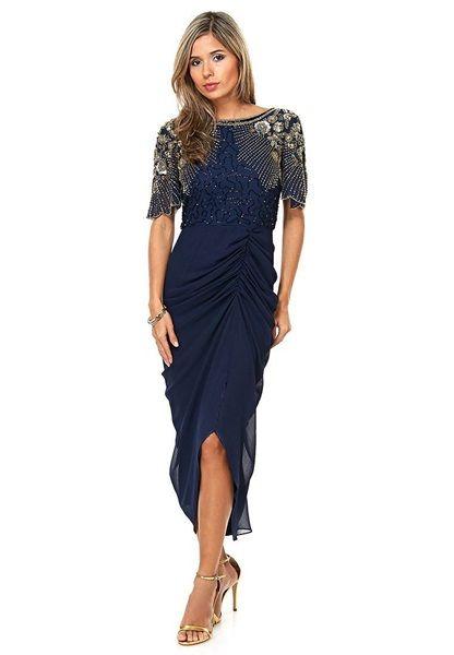 As7 Virgos Lounge Wyszywana Sukienka 34 Xs 5210414745 Oficjalne Archiwum Allegro Virgos Lounge Midi Dress Party Dresses