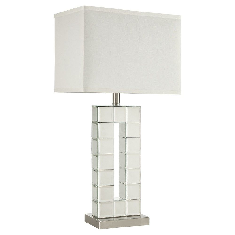 Marlene mirrored table lamp brown products marlene mirrored table lamp brown geotapseo Images