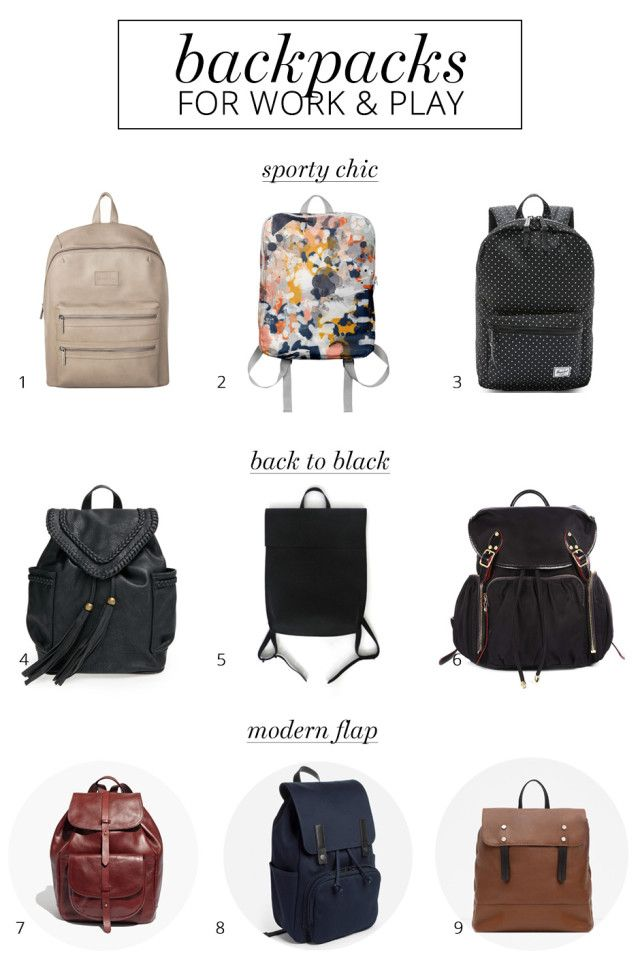 e2c85939b Back-to-school style: 9 fashionable backpacks for women - A Girl Named PJ