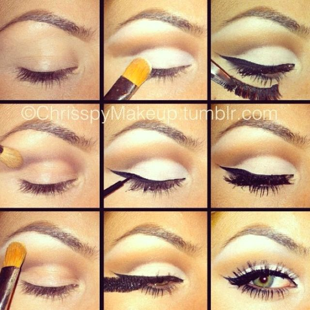 Simple easy to do make up look :)