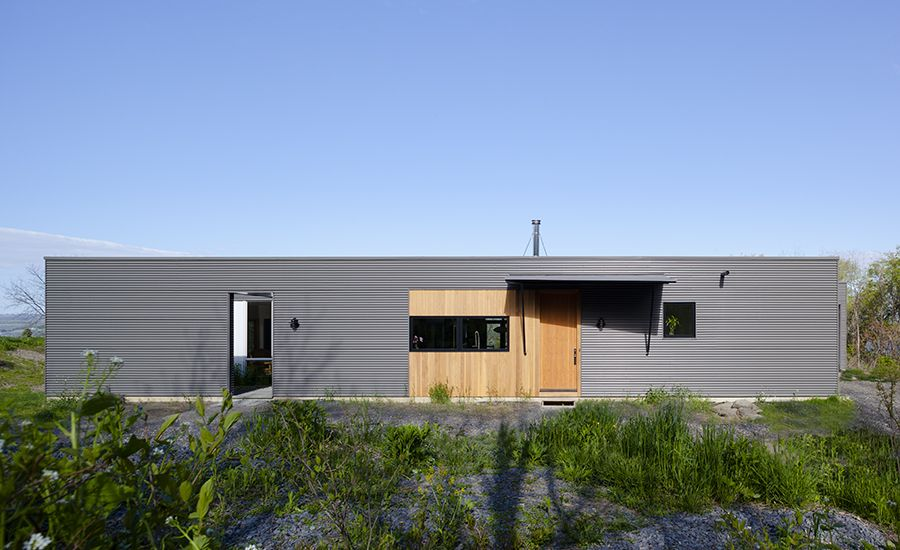 Seneca House By Simitch And Warke Architecture Architecture House Rustic Retreat