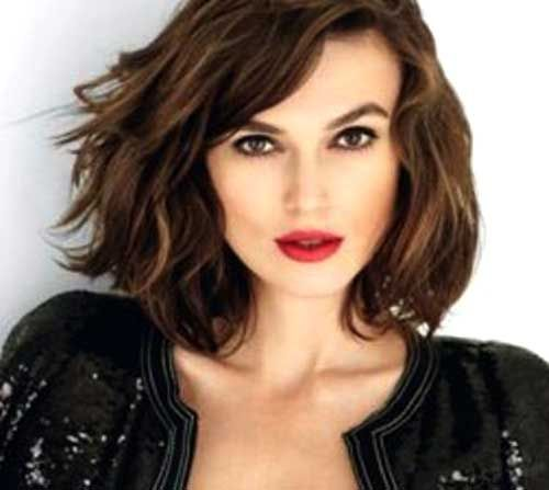 Short Hairstyles For Thick Wavy Hair Awesome 10 Short Hairstyles For Thick Wavy Hair  #hair
