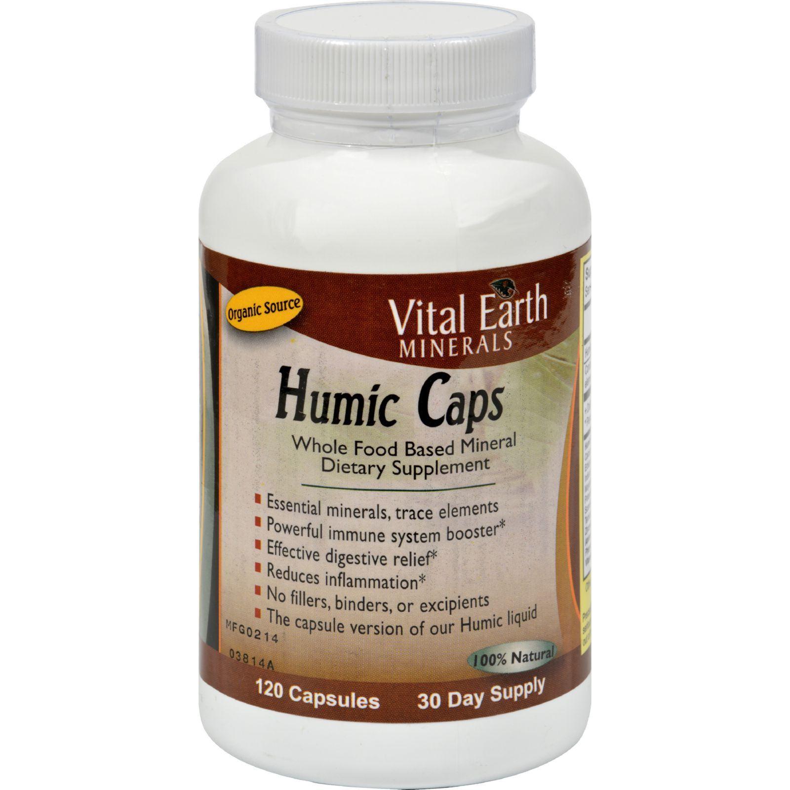 Vital earth minerals humic caps 120 capsules vital for Earth elements organics