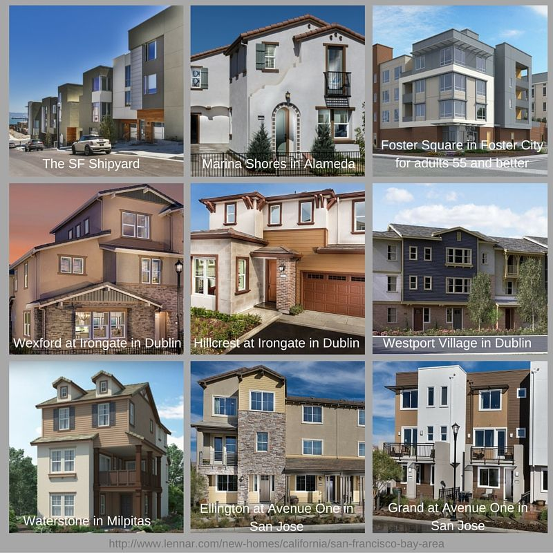 Lennar is building homes ALL around the bay  Take a peek at