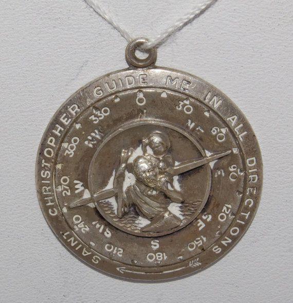 2-Inch Height Roman Saint Michael Visor Clip