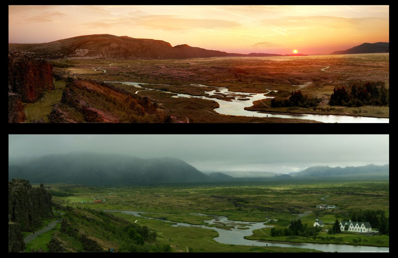 Matte painting before and after google search matte painting matte painting before and after google search baditri Gallery