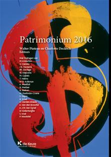 Patrimonium, 2016