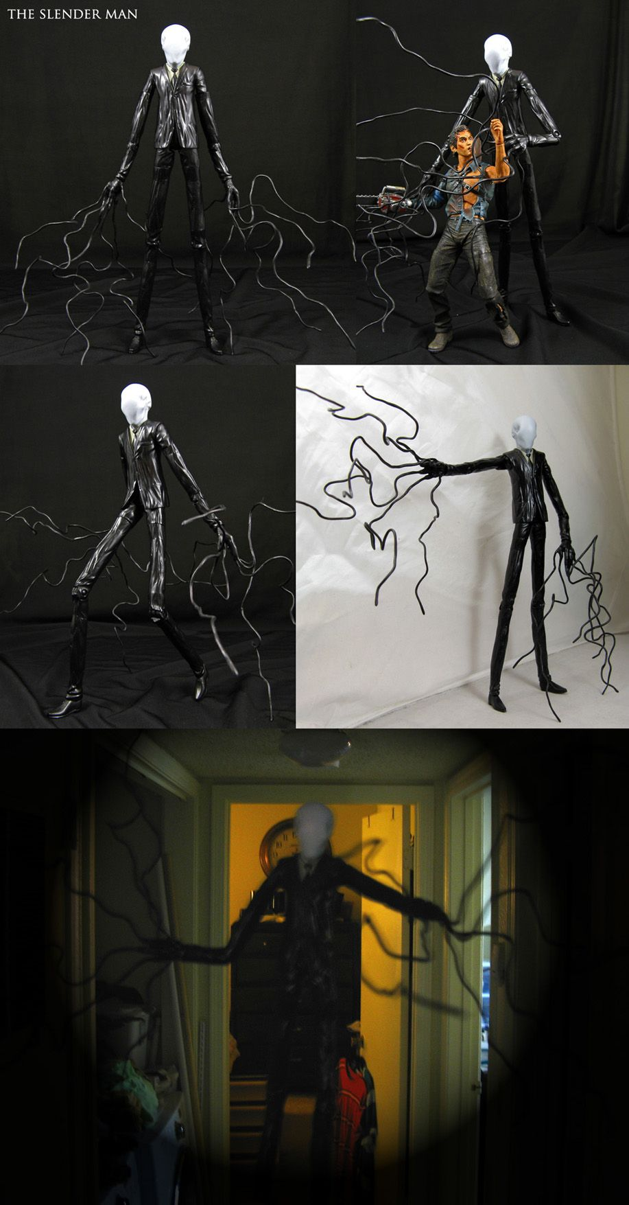 f51ce566d34 Custom Slender Man action figure by Jin-Saotome.deviantart.com on @ DeviantArt