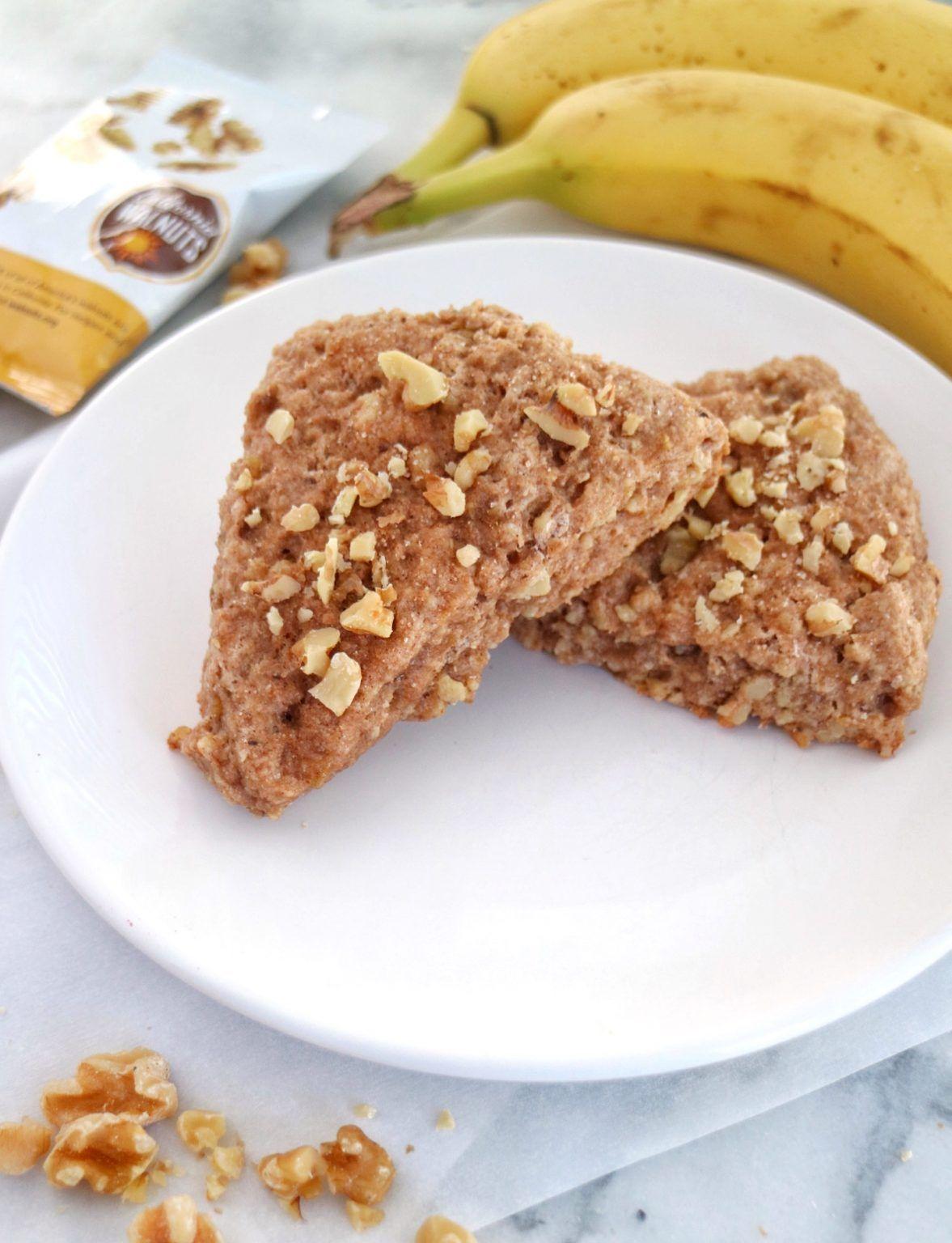 Banana Walnut Scones » The Nutrition Adventure