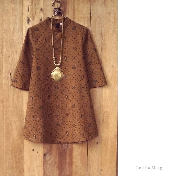 Atasan Sidsmukti Atasan Batik Kimono Kasual Pakaian Wanita Dan