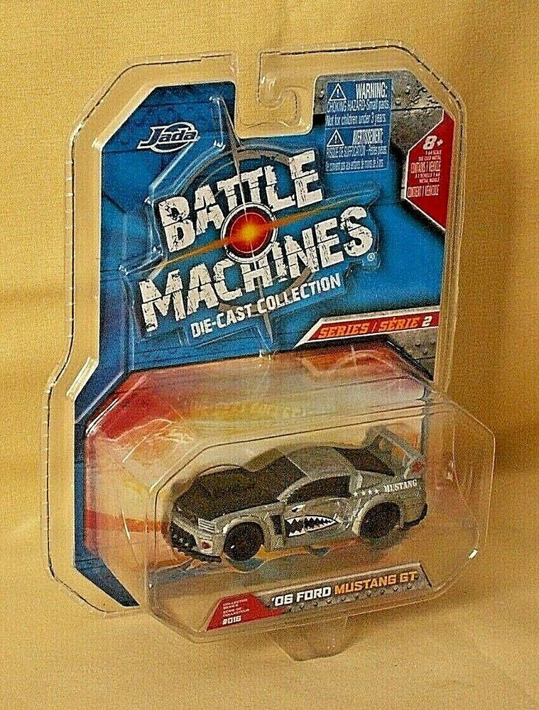 FORD MUSTANG GT 2006 JADA TOYS BATTLE MACHINES 016 FIGHTER
