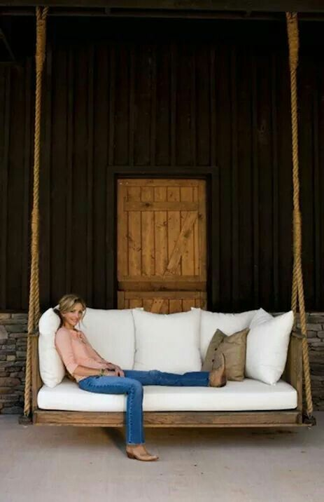 This would be great on the front or back porch.....just perfect for naps.