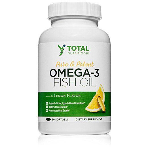 V Health Tech Omega 3 Fish Oil Review #PureOmega3FishOil