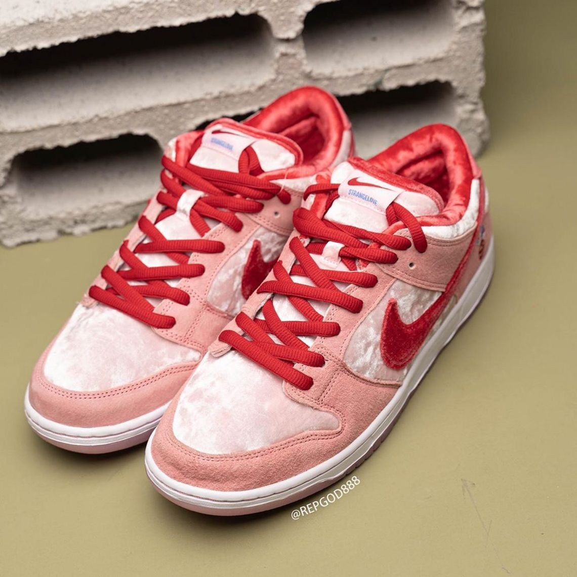 Detailed Look At The StrangeLove Skateboards x Nike SB Dunk