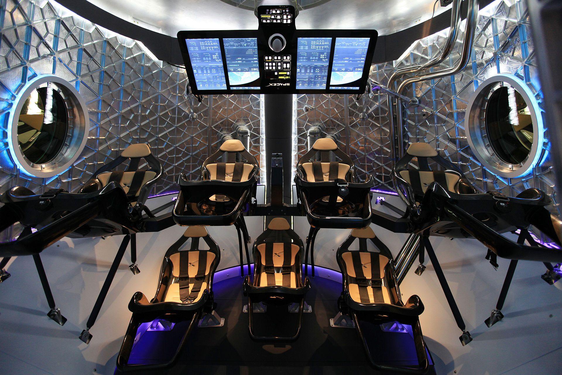 Dragon V2 Interior 2 Dragon Spacecraft Wikipedia The Free