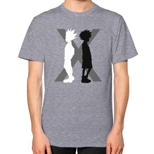 The Light And The Shadow Unisex T-Shirt (on man)