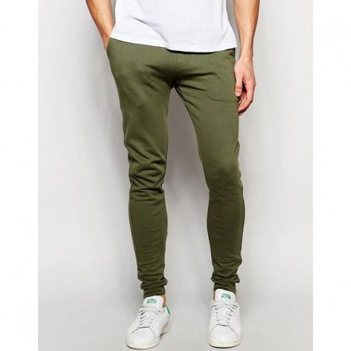 speical offer super specials 100% authentic ASOS Super Skinny Joggers In Green (100 PEN) ? liked on ...
