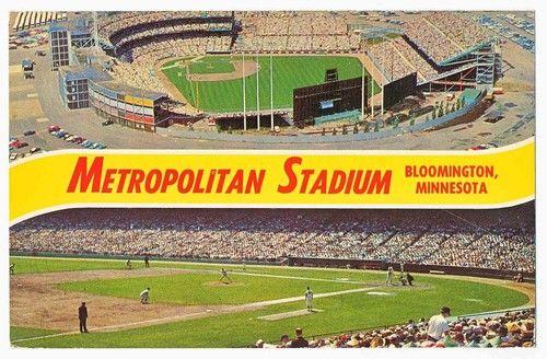 The Old Met Baseball Stadium Bloomington Minnesota   eBay