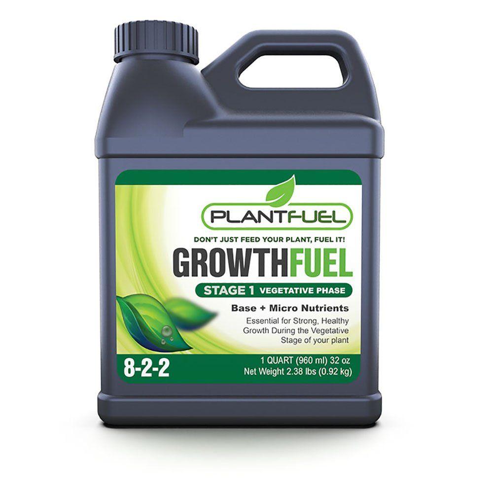 Plant Fuel Nutrients Growth Fuel Ultrapremium Liquid Fertilizer For Soil Hydroponic And Other Grow Mediums Formulated Liquid Fertilizer Hydroponics Nutrient