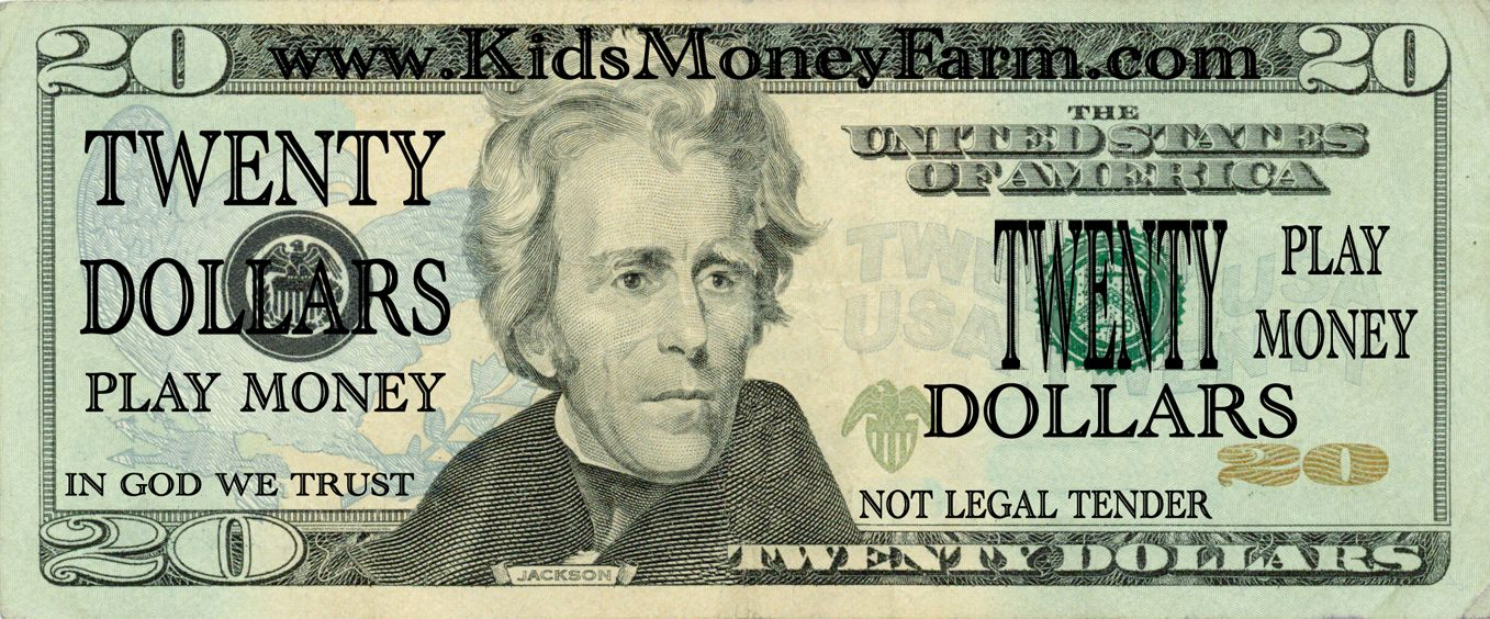 Money to print fake play money templates books worth for Fake money images