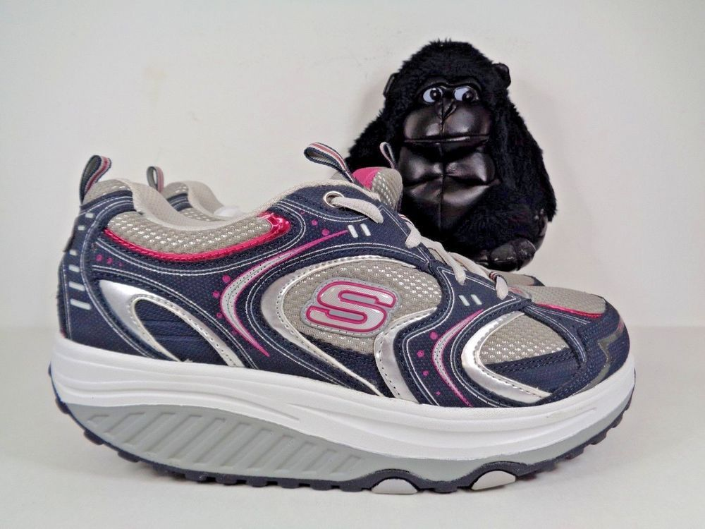 Womens Skechers Shape Ups Running Cross Training Shoes Size 8 5 Sn