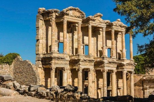 Das in der heutigen Türkei gelegene Ephesos war im Altertum eine der wichtigsten Städte des Römischen Reichs.