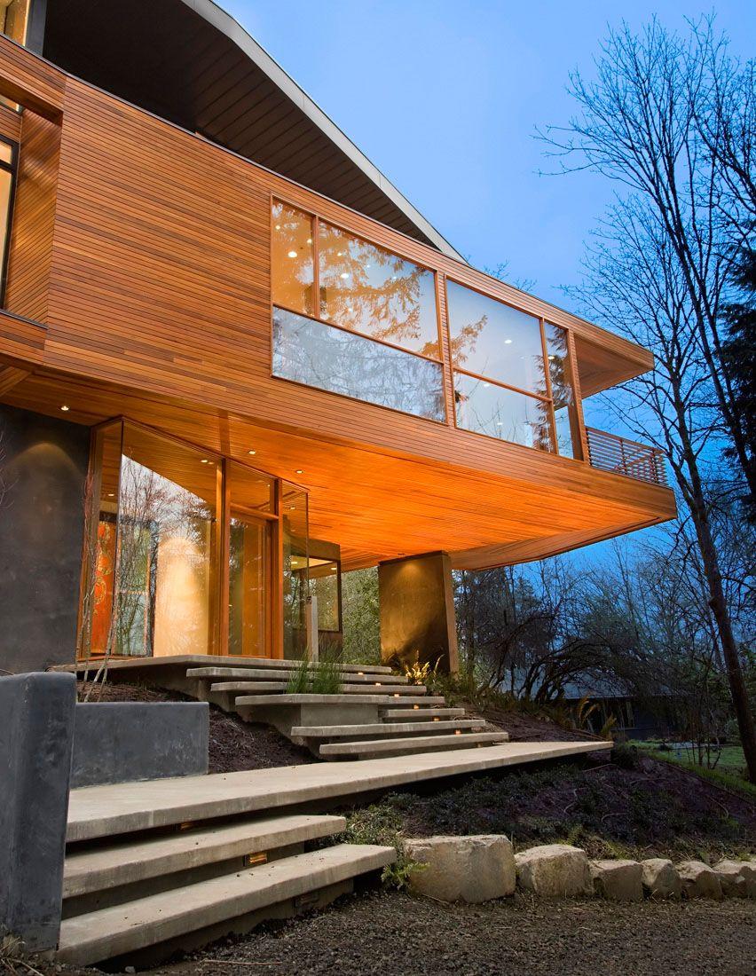 El Verdadero Nombre Y Procedencia De La Casa De Los Cullen Saga Crepúsculo Casa De Diseño Contemporáneo Entradas De Casas Arquitectura De La Casa