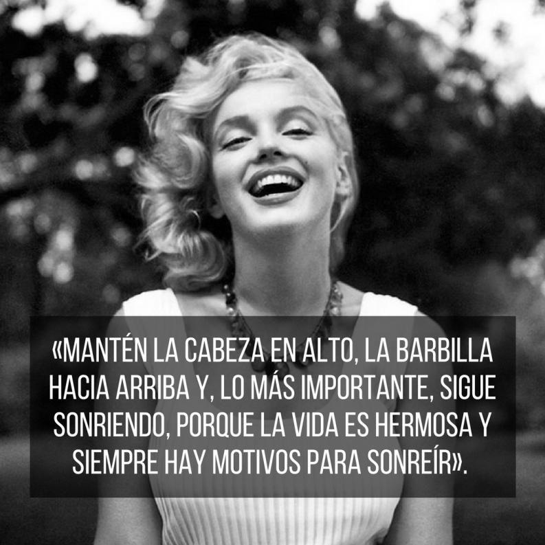 Resultado de imagen de Frases Marilyn Monroe