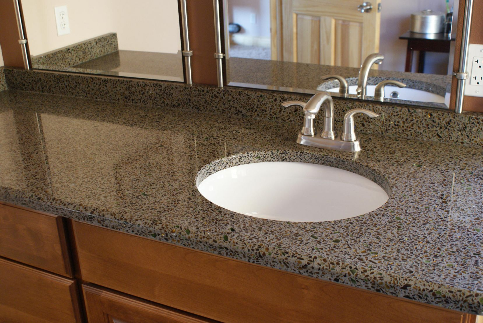 50+ Recycled Granite Countertops   Apartment Kitchen Cabinet Ideas Check  More At Http:/