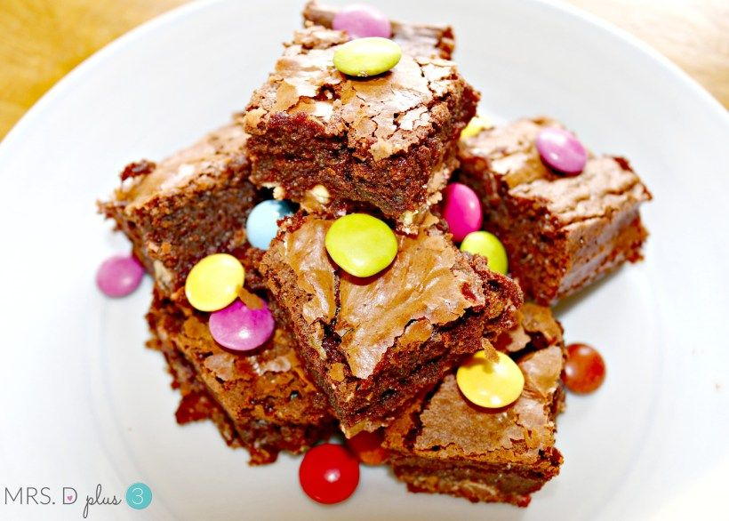 The best double chocolate surprise brownies made in the thermomix