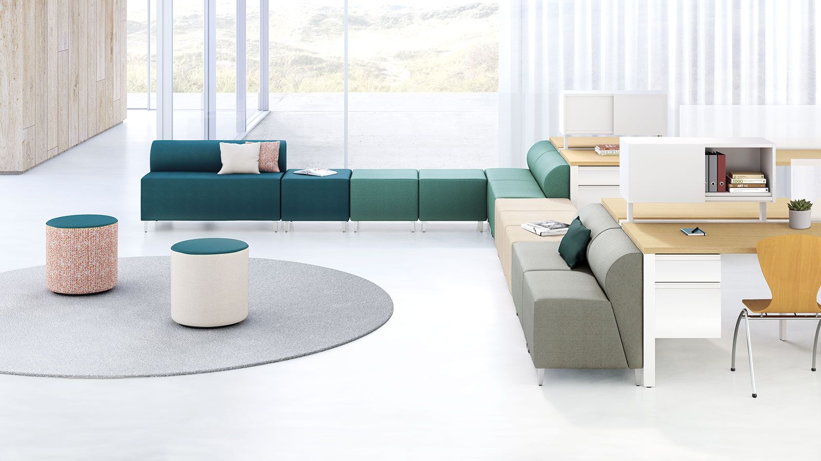 The Kimball Office Dwell Seating PeabodyPicks Interiordesign - Kimball office furniture