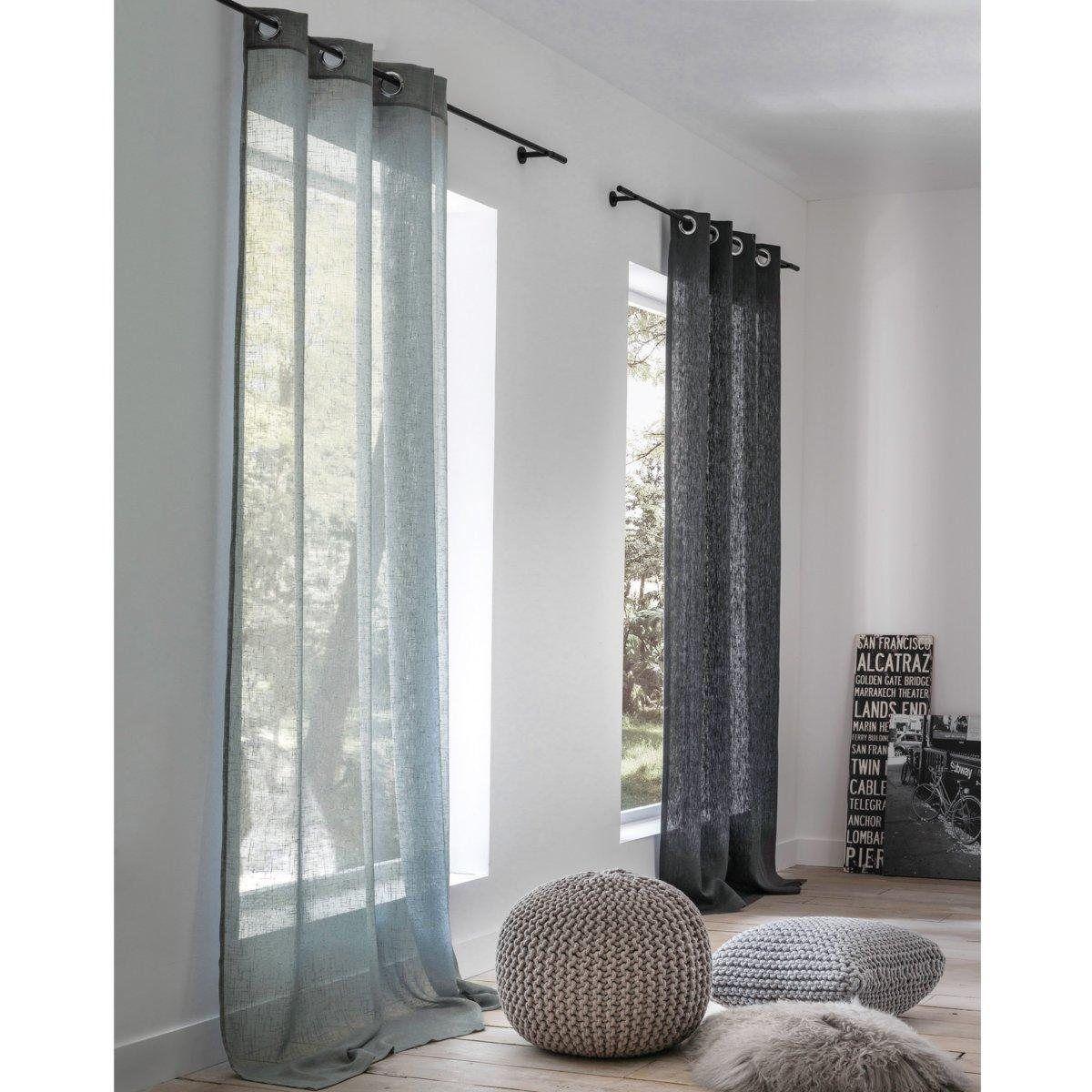 voilage la redoute simple voilage de cuisine marvelous rideau voilage rouge voilage x h cm. Black Bedroom Furniture Sets. Home Design Ideas