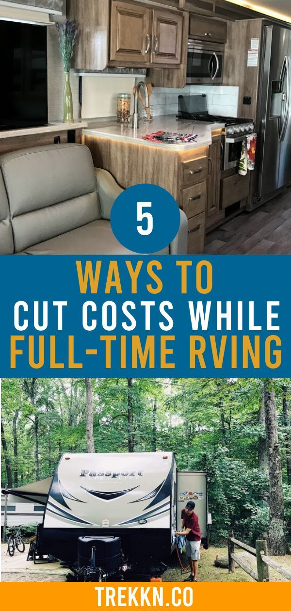 Photo of 5 Ways to Cut Costs While Full-Time RVing – TREKKN