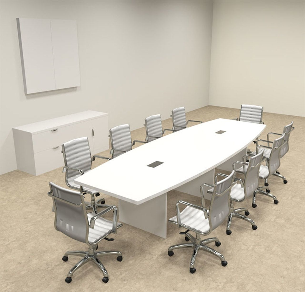 Modern Boat Shaped 12 Feet Conference Table Of Con C123 In 2020 Conference Table Office Furniture Design Table
