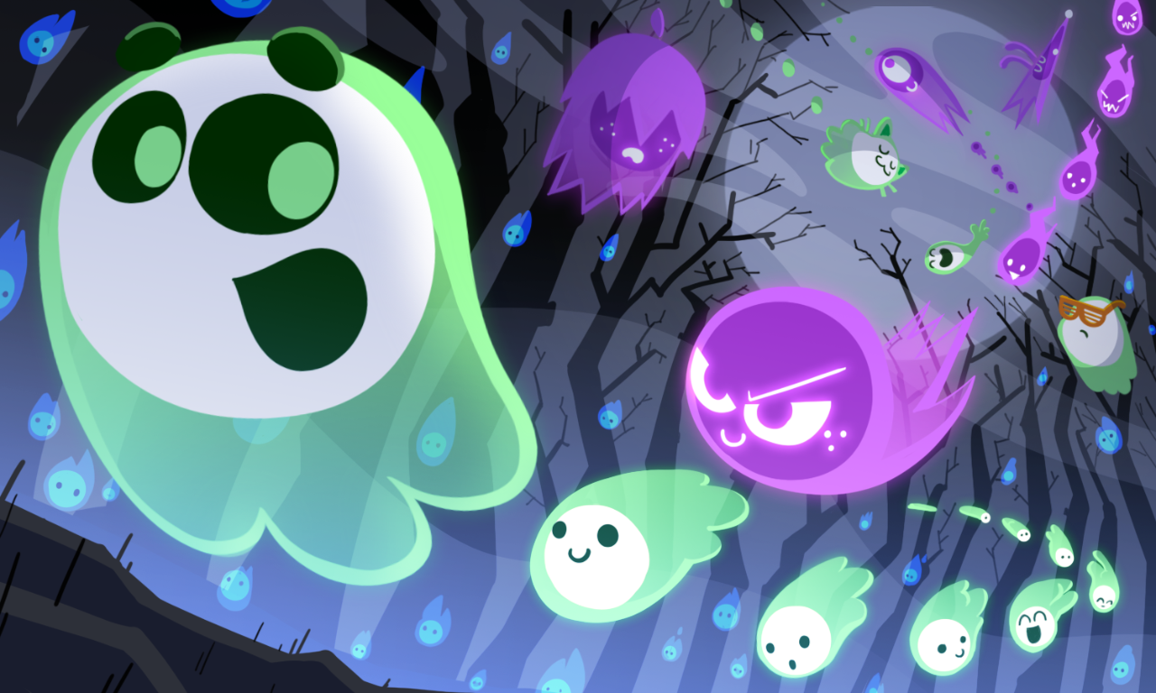 On october 30, 2018, for halloween, google added a multiplayer game (up to eight players) called great ghoul duel, featuring two teams of ghosts racing to. Halloween 2018 October 30, 2018   Halloween doodle, Google ...