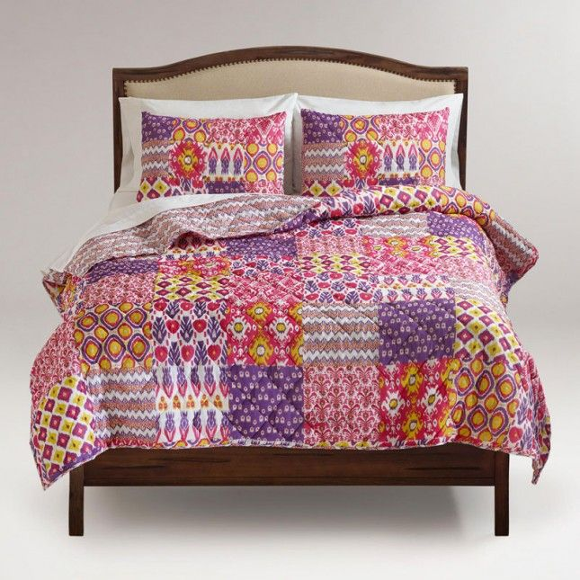 Ikat Asha Reversible Quilt | 20 Comforters + Duvet Covers That Won't Break the Bank