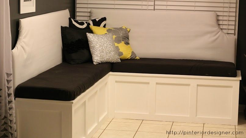 Build A Custom Corner Banquette Bench | Corner Banquette, Banquettes And  Designers
