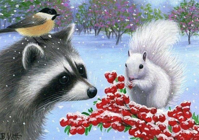 028 Bridget Voth – White Squirrel